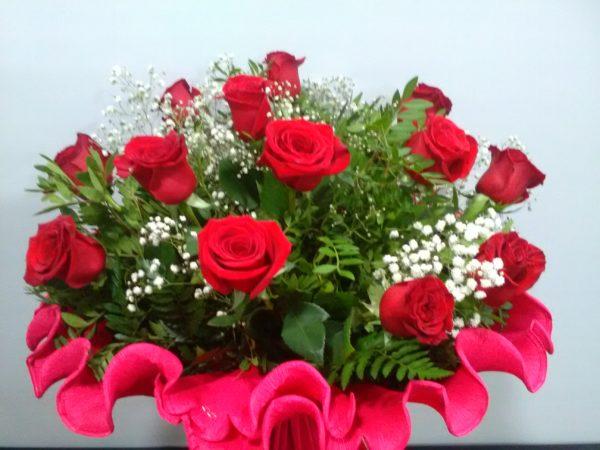 Amor Eterno - Docena de rosas rojas