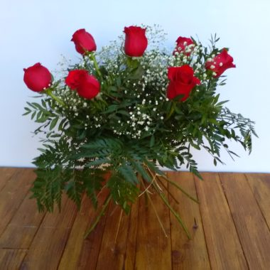 Seven - Media docena de rosas rojas