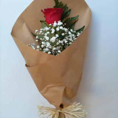 Smile - Rosa Roja
