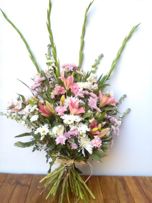 Ramo de flores difunto