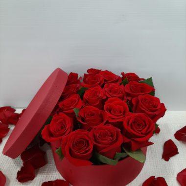 Sombrerera 20 rosas