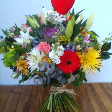 Bouquet Alegría + Corazón