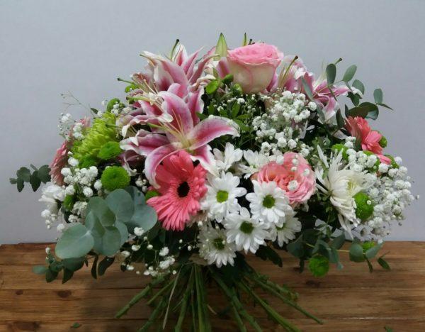 Bouquet Delicadeza, con flores de temporada