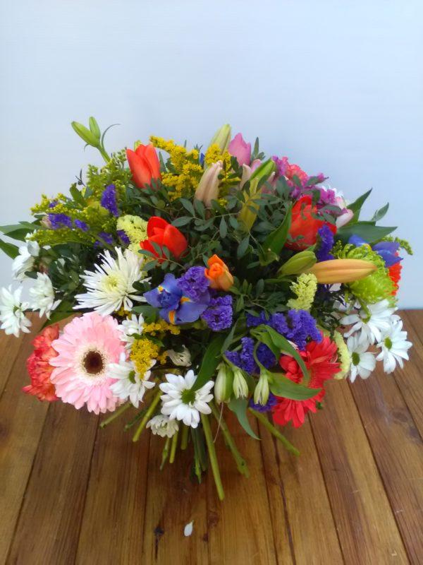 Bouquet Primaveral con Tulipanes